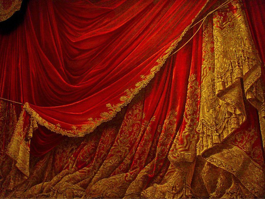 rideau peint opéra Garnier Paris